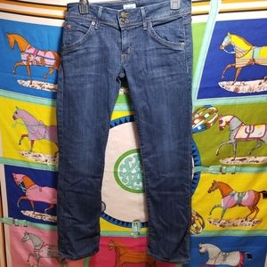Hudson Beth Baby Boot Crop Jean's Size 27